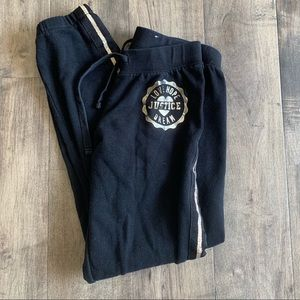 Girls Justice sweats size 12